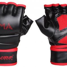 Manusi MMA negru-rosu S-M