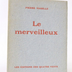 Le Merveilleux - Ed.Princeps, 1946 - Ilustratii Victor Brauner si J.Herold