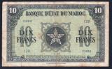 Maroc 10 Francs s129 1943 P#25