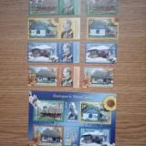 ROMANIA(C038)-LP. 2105 - ANOTIMPURI - serie + serie cu vinieta + bloc stampilat