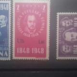 Romania 1952 Revolutia de la 1848 supratipar L.p 299 mnh - Timbre Romania, Transporturi, Nestampilat