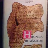 Gheorghe Sincai - Hronica romanilor vol. I
