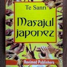 Te Sanri - Masajul japonez - Carte ezoterism