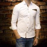 Camasa barbat - camasa slim fit camasa batista camasa eleganta cod 152 - Camasa barbati, Marime: S, M, XL, XXL, Culoare: Din imagine, Maneca lunga