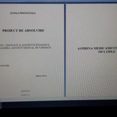 Lucrare de licență+prezentare power point AMF ASPIRINA - Certificare
