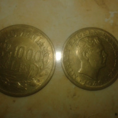 Monede vechi 2000lei-1946 si 10000lei-1947 - Moneda Romania