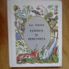 W1 Furnica Si Porumbita - Lev Tolstoi - Carte Fabule