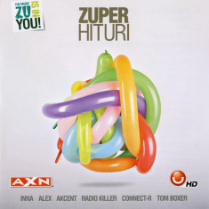 Compilatie Zuper Hituri (Inna, Fly Project, Akcent, Connect-R) (1 CD) - Muzica Dance roton