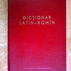 Dictionar latin-roman