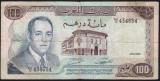 Maroc 100 Dirhams 1970