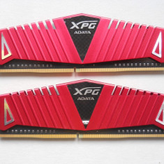 Kit Memorie ADATA XPG Z1 Red 8GB DDR4 2666MHz. - Memorie RAM A-data, Peste 2000 mhz, Dual channel