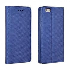 Husa piele HTC U11 Case Smart Magnet Bleumarin - Husa Tableta