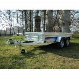 Remorca utilitara auto 1400 kg 304x150 cm, RAR efectuat, 6 RATE Fara Dobanda