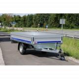 Remorca platforma Eurolight 1500 kg 310x160cm, RAR efectuat, 6 RATE Fara Dobanda - Utilitare auto