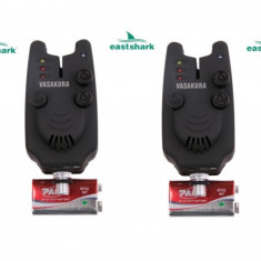 Set 4 Avertizori ( Senzori ) EastShark Cu Potentiometru Modelul Clasic Diamant - Avertizor pescuit, Electronice