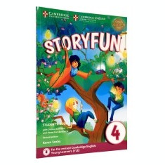 Storyfun for Movers Level 4 Student's Book with Online Activities and Home Fun Booklet 4 - Certificare