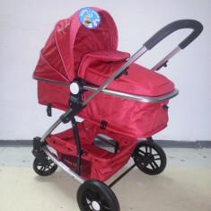 Carucior 2 in 1 Baby Care nou in cutie sigilat YK 18 - Carucior copii 2 in 1 Baby Care, Rosu