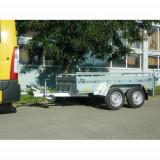 Remorca auto Majster 1300kg dim 245X132X40cm, RAR efectuat, 6 RATE Fara Dobanda