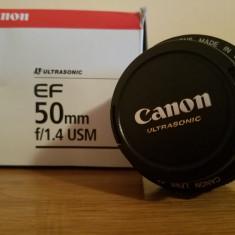 Cann 50 1.4 - Obiectiv DSLR Canon