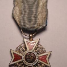 Ordinul Coroana Romaniei Cavaler Civil Primul Model