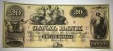 20 dollars - canal bank