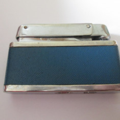Bricheta romaneasca colectie cu fitil si benzina marca Econ/Fagaras din anii 70 - Bricheta de colectie, Cu benzina