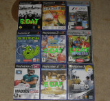 8 jocuri/joc x15lei PlayStation2/PS2:Rygar,Scarface,Dragon Ball,Stitch,Pinball