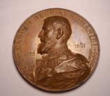 Medalie Regele Carol I - Aniversarea a 25 de ani de Domnie 1866 1891