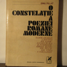O CONSTELATIE A POEZIEI ROMANE MODERNE- DINU PILLAT