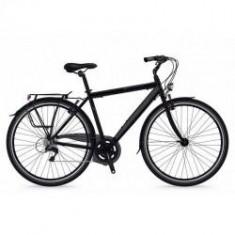 Bicicleta Shockblaze Lucky 6v Man negru mat 2018 50 cm