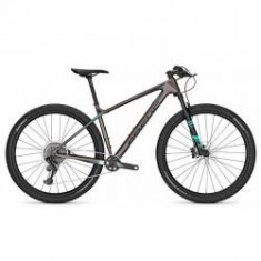 Bicicleta Focus Raven Max SL 12G 29 titan/aquabluem 2018 - Mountain Bike