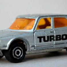 Majorette - Saab Turbo 1/62 no. 284 - argintiu metalizat - Macheta auto Majorette, 1:60