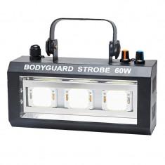 Stroboscop LED Bodyguard, 60 W, RGB - Stroboscop club