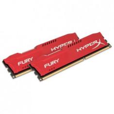 Memorie HyperX Savage Red 8GB, DDR3, 2400MHz, kit 2x4GB - Memorie RAM Kingston