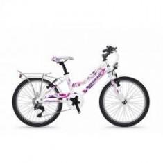 Bicicleta Shockblaze Jessy 20 6v alba 2018 - Bicicleta copii