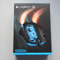 Mouse Gaming Logitech G300S 9 butoane programabile., USB, Optica, Peste 2000