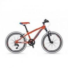 Bicicleta Shockblaze Ride 20 6v rosu lucios 2018