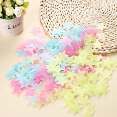 stelute fosforescente pentru decorat camera copiilor multicolor