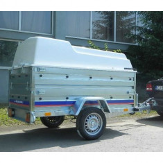 Remorca carosata 750 kg dim 204x115x118 cm, 6 Rate Fara Dobanda, RAR Efectuat - Utilitare auto