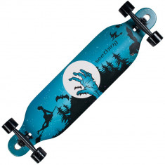 Longboard Land Surfer® II ABEC-7, PU, Aluminiu, 100kg Halloween - Skateboard, Marime: 23