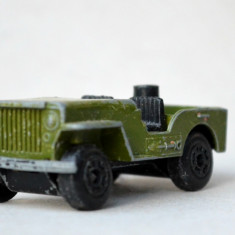 Matchbox Superfast Lesney Jeep no. 38 - Macheta auto Majorette, 1:64