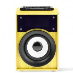 Mini boxa portabila cu bluetooth, mp3, radio fm, kts-668, Universala, Conectivitate bluetooth: 1