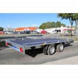Remorca transport auto 2700kg dim 450x200 cm, RAR efectuat, 6 RATE Fara Dobanda