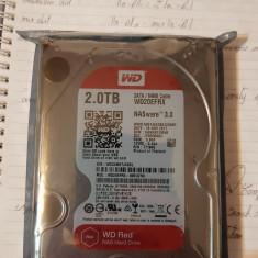 Vand HDD SIGILAT WD RED 2.0 TB SATA/64MB Cache NASware 3.0 - Hard Disk Seagate