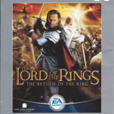 The Lord of the rings The return of the king PLATINUM - PS2 [Second hand] - Jocuri PS2, Actiune, 12+, Multiplayer