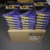 Casete video SIGILATE - VHS MAXELL GX Black 60