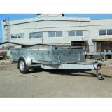 Remorca auto Boro Majster 1300 kg dim 300x150cm, 6 RATE Fara Dobanda,cu RAR