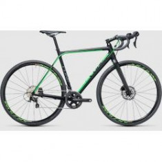 BICICLETA CUBE CROSS RACE SL black green 2017 - Bicicleta Cross