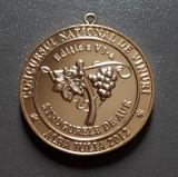 Medalie Concursul national de vinuri - Strugurele de aur