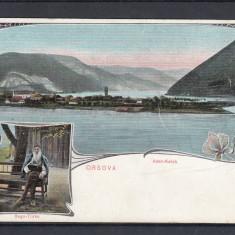 ORSOVA ADA KALEH BEGO-TURKE - Carte Postala Oltenia pana la 1904, Necirculata, Printata
